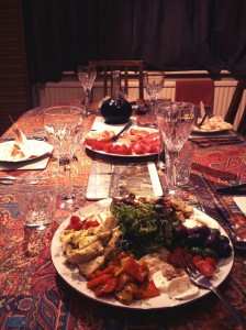 Italian Boxing Day lunch